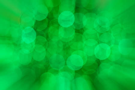 zoomed: bokeh of Christmas light with zoomed in effect border