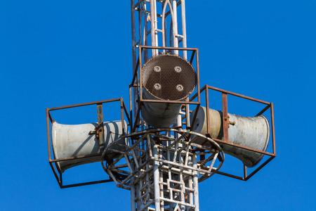 mega phone: Public horn speaker for announcement