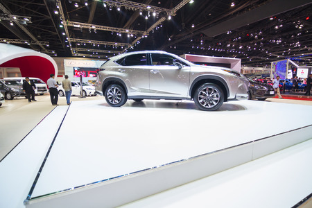 lexus auto: Bangkok, THAILAND - March 30: The Lexus NX 300h is on display at The 36th Bangkok International Motor Show on March 30, 2015 in Nonthaburi, Thailand