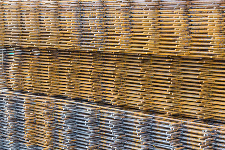 Welded: Steel welded wire mesh for concrete cement construct
