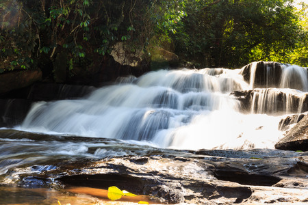 Than Thong Waterfall in Sangkhom District, Nong Khai Province, Thailand Stock Photo