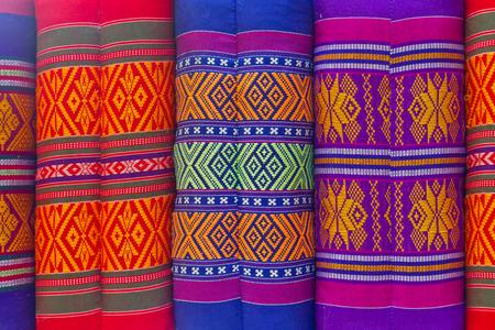 sarong: sarong pillow Stock Photo