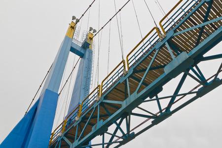 rope bridge: rope bridge on isolate