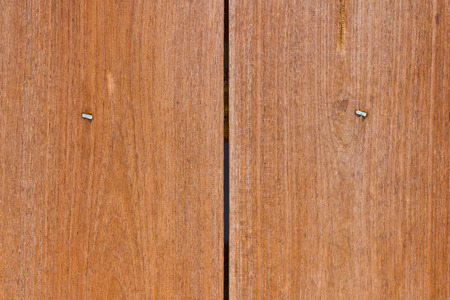 two piece: Two piece teak wood walls
