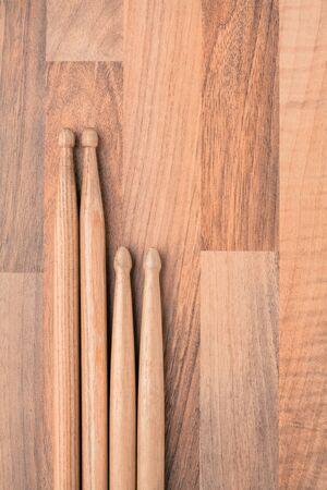 drumsticks: Drumsticks Wood Stock Photo