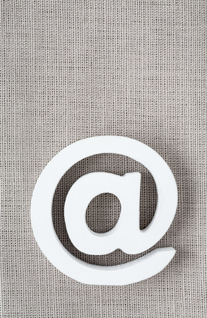 the icon: Email icon Internet Icon