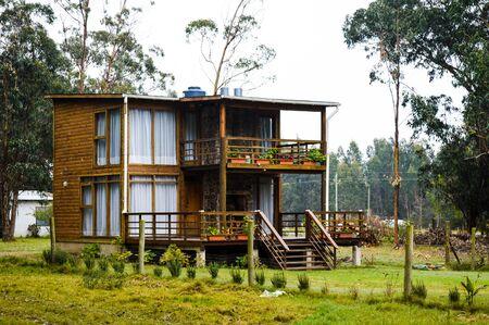 beach house built in wood