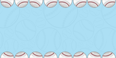 Background of baseball - Sport - illustration