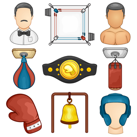 Boxing Icon - Sport - Illustration