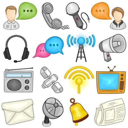 Communications Icon    Illustration Illustration