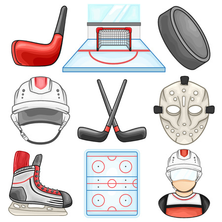 Ice Hockey Icon - Sport - Illustration