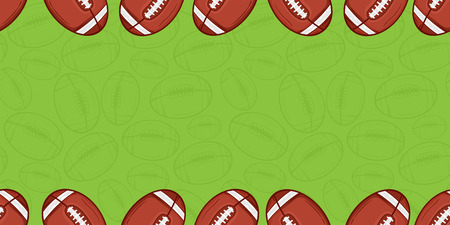 Background of american football - Sport - illustration