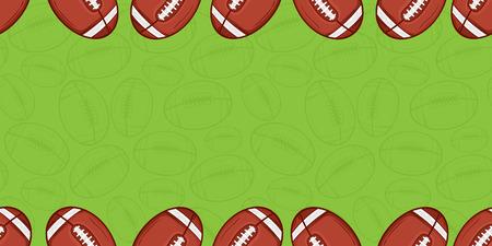 Background of american football - Sport - illustration