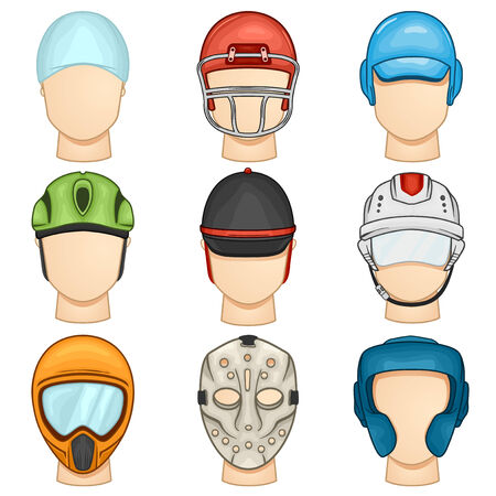 Helmet Icon - Sport - Illustration