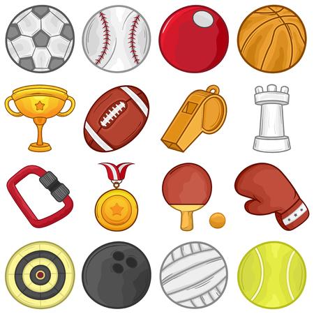 Sport Icons set    Illustration