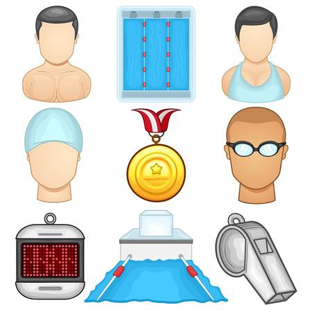 Swimming icon - Sport
