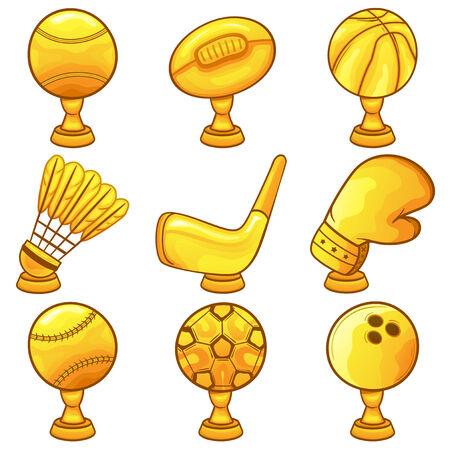 Trophy Icon - Sport - illustration Illustration