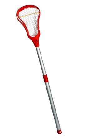 lacrosse: A beginners lacrosse stick