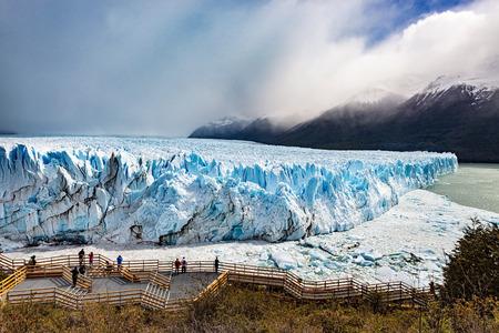 glaciar: The Perito Moreno Glaciar in Argentina