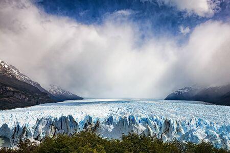 moreno: Perito Moreno, Argentina Stock Photo