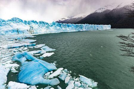 moreno: Perito Moreno Glacier, Argentina: October 2013.