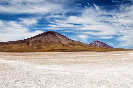 altiplano: Mountains in the Bolivian Altiplano: 2013