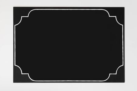 chalkboard isolated to fill on white background