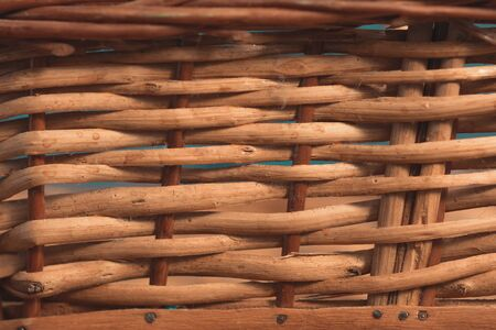 basket, straw and wood weft texture for backgrounds