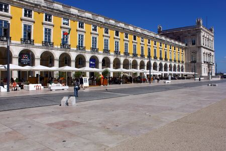The Commerce Square also known as Terreiro do Pa�o is most important square in Lisbon