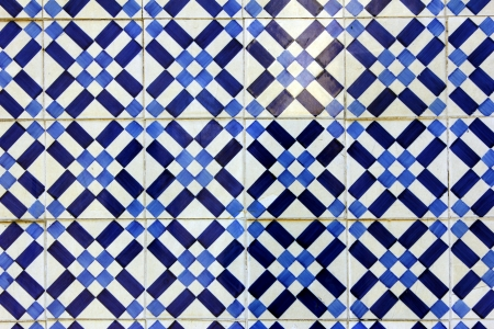 Typical portuguese tiles Stock Photo