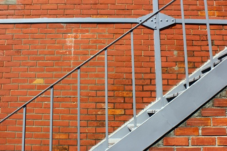 Old Brick Wall and stairs Stock Photo - 15429140