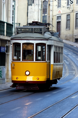 electrico: Tram, Lisbon, POrtugal Editorial