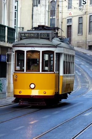 electrico: Tram, Lisbon, POrtugal Editorial