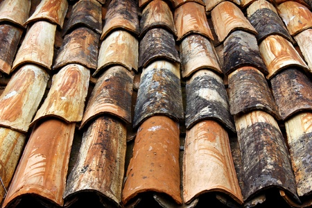 Detail of a roof at a small portuguese village Stock Photo - 15383637