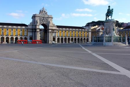 Pra�a do Com�rcio, Lisboa, Portugal