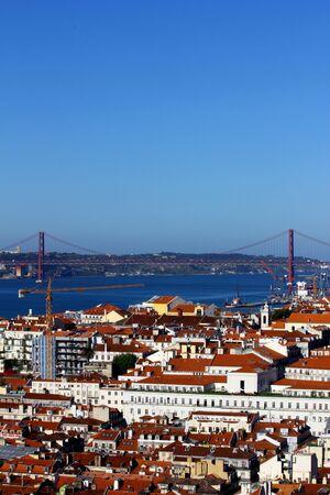 Detalhe do centro da cidade de Lisboa Imagens