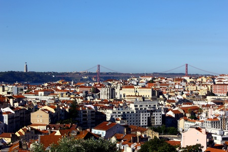 View over Lisbon photo