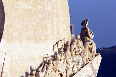 Detail of the Monument to the Portuguese Sea Discoveries