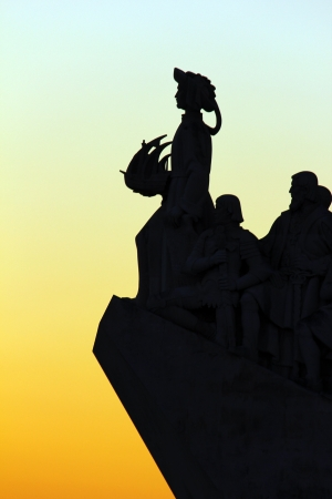 Detail of the Monument to the Portuguese Discoveries