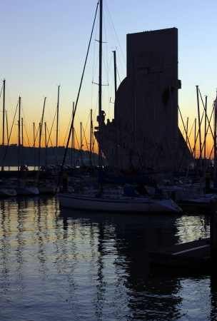 discoveries: The Monument to the Portuguese Discoveries and the Marina