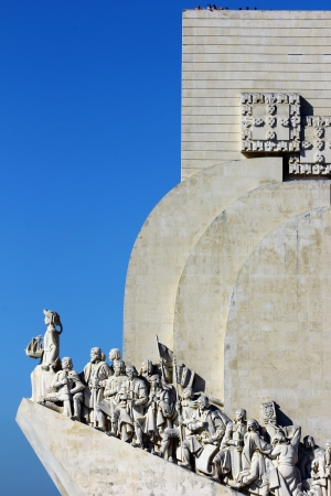 discoveries: Monument to the Portuguese Sea Discoveries  Lisbon, Portugal