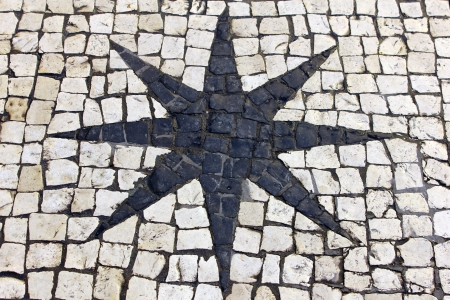 Calçada portuguesa, POrtuguese pavement photo