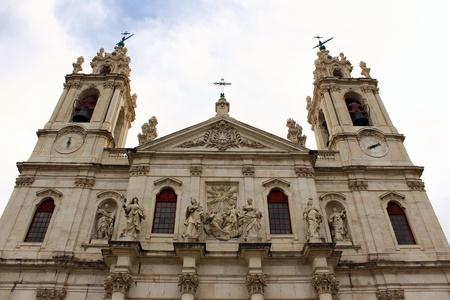Estrela Basilica, Lisbon, Portugal Stock Photo - 16112931