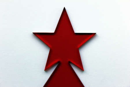 Red Christmas Star Stock Photo - 16381194