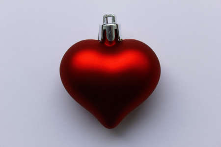 Red Christmas Heart photo