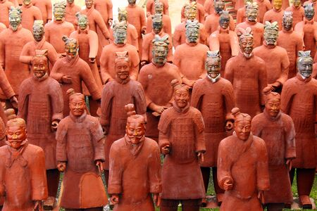 Terracotta Warriors Stock Photo - 16531731
