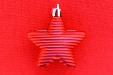 Red Christmas Star Stock Photo - 16600784