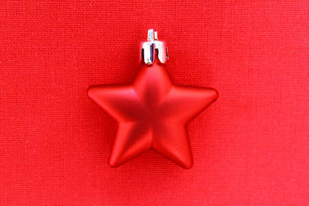 Red Christmas Star Stock Photo - 16602238