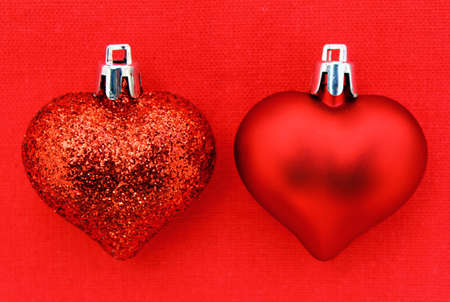 Red Christmas Heart Stock Photo - 16617689