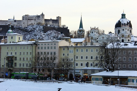 The city of Salzburg, Austria Stock Photo - 16961312
